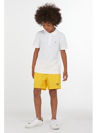 Barbour Erkek Çocuk Tartan Polo Yaka Wh11 White Beyaz